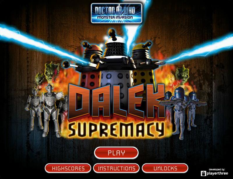 Doctor Who Dalek Supremacy