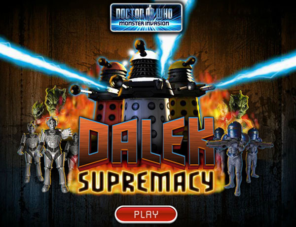 Doctor Who Dalek Supremacy
